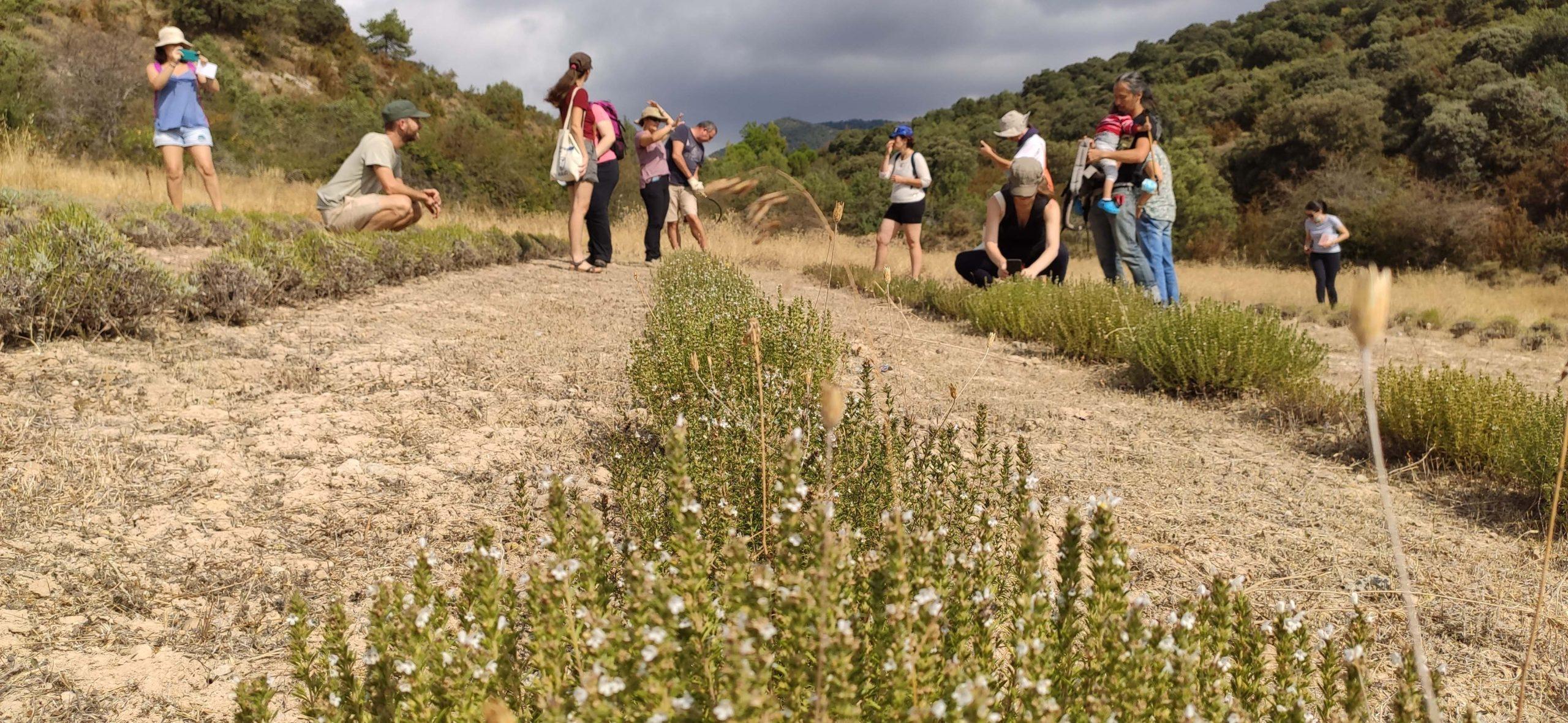 Visites techniques en Aragon avec les étudiants des cours
